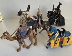 Schleich Knights Horses Camel Archer Bulk Lot Bundle Figurines FREE POST