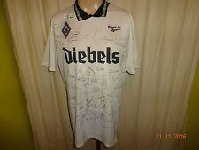Borussia Mönchengladbach Reebok Trikot 1995/96 + gedruckte Unterschriften Gr.XL