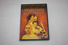 Crouching Tiger Hidden Dragon (Dvd, 2001, Special Edition) Martial Arts Movie