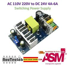AC-DC AC/DC AC 85-265V 110V 220V to DC 24V 4A-6A 100W Switching Power Supply