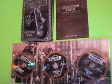 Chopper Madness Bikers USA 3 DVD Set in Metal Box w/Brochure