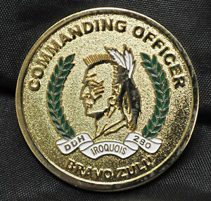 Commanding Officer HMCS Iroquois Challenge Coin