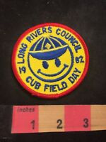 Vtg 1982 LONG RIVERS COUNCIL CUB FIELD DAY BSA Boy Scouts Patch 80XE