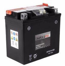 MASSFX HTX14-BS Maintenance Free VRLA Replacement Battery YTX14-BS CTX14-BS