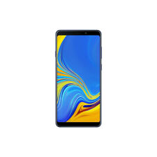 Samsung Galaxy A9 (2018) 6GB+128GB Factory Unlocked Samrtphone - Lemonade Blue