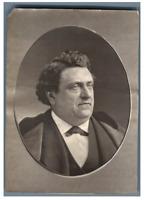 Talbot, Comédien Vintage albumen print. Tirage albuminé  9x12  Circa 1880