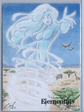 Perna Studios Elementals Sketch Card by Eric McConnell