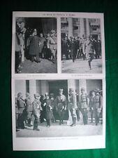 Nel 1920 Scià di Persia a Roma + scultura etrusca rinvenuta a Vejo