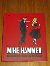 MIKE HAMMER HARDBACK FROM THE FILES OF COMPLETE DAILIES SUNDAYS   9781613450253