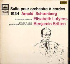 NORMAN DEL MAR, SCHOENBERG SUITE 60'S STEREO LP LA VOIX DE SON MAITRE ASDF 870