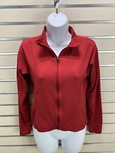 cannondale Women's Small Red long Sleeve Full Zip Leisure Cycling Jacket