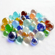 Lot Glass Beads Marbles Kid Toy Fish Tank Decorate Chinese Checkers Beads