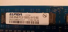 Elpida 8GB Set (4x2GB) 2Rx8 PC3-10600U-9-10-BU DDR3-1333 DIMMs