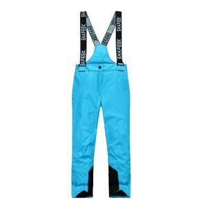 Boys Girls Skiing Pants Windproof Waterproof Ski Pants Warm Winter Snow Trousers