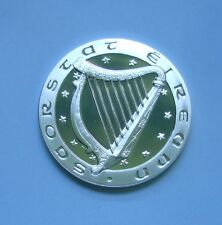 Ireland / Eire 1 Ecu 1992, Irish Harp - Map of Europe