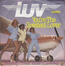"LUV - You´re The Greatest Lover *7"" Single*RAR* ( M-)"