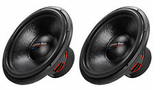 "(2) American Bass HD18D2 HD 18"" 4000w Competition Car Subwoofers 300Oz Magnets"