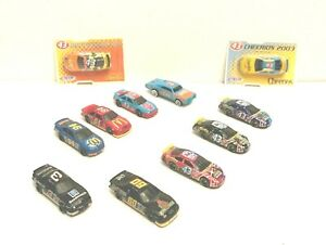 11 NASCAR Diecast 1/64 Scale Bundle