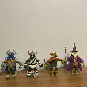 Playmates 2012 Nickelodeon TMNT Leo Raph Mikey Donnie Loose Figure Lot