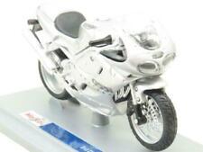 Motos miniatures argentés Triumph