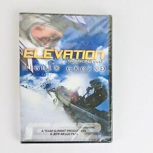 Elevation: Season Two - Higher Ground (DVD) Team Summit snowmobiling film NEW