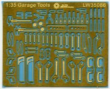 Alliance Model Works 1:35 Scale Mechanic Tools Connectionless PE #LW35086