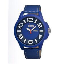 Crayo Horizon Blue Stainless Steel Case Mens Watch CR0105