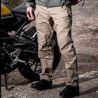 Men Tactical Pants Combat QuickDry Lightweight Waterproof Forces Cargo Hiking