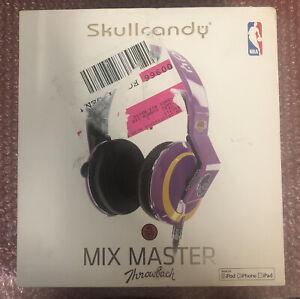 Skullcandy NBA Mix Master Throwback Los Angeles Lakers New!