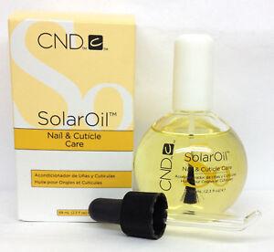 CND Solar Oil 2.3oz/68ml- Nail & Cuticle Conditioner- BIG SALE
