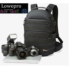 Black LowePro ProTactic 350 AW DSLR Camera Photo Bag Laptop Backpack