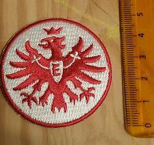 Eintracht Frankfurt Original Aufnäher mit 5 cm Durchmesser in Rot
