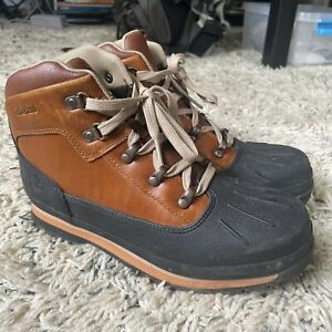 TIMBERLAND Euro Hiker Boys Sz 6.5 Defender Repellent Lace Up Boots A1642