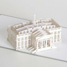 PaperPopCards 3D greeting card - WHITE HOUSE - #PPC-146