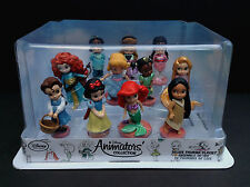 DISNEY Store ANIMATORS COLLECTION Deluxe Figure Play Set CAKE Topper NEW