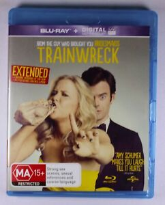 Trainwreck Blu Ray Extended Cut FREE POST