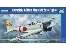 TRUMPETER® 02405 Mitsubishi A6M2b Type 21 Zero Fighter in 1:24