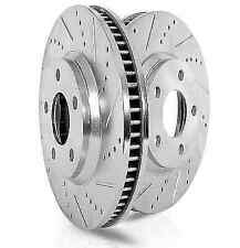 Power Stop AR8680XPR Drilled & Slotted Front Rotor Set for Regal/Camaro/G8
