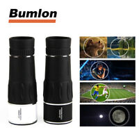 35X95 HD Monocular Night Vision Telescope for Hunting Travel with Phone Bracket