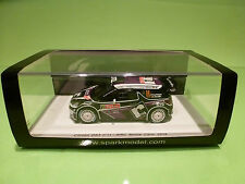 SPARK 1:43 CITROEN DS3 11 -  MONTE CARLO 2012 - ORIGINAL BOX - IN MINT CONDITION
