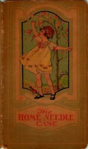 Vintage The Home Needle Case - Compliments Of Campbell & Wells Pottstown PA