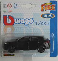 Bburago - Porsche Macan schwarz 1:43 Neu/OVP Blister Modellauto