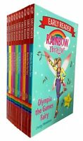Rainbow Magic Early Readers 10 Books Collection Set By Daisy Meadows Florence th