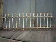 """Antique Cast Iron Fence Window Gate Garden Architectural Hardware 31"""" x 11"""""""