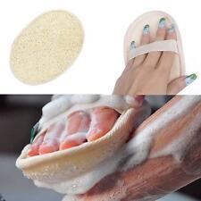 Natural lufa luffa baño ducha esponja Cuerpo Exfoliante Exfoliante Lavadora pad