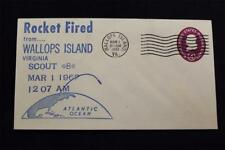 SPACE COVER 1962 MACHINE CANCEL 1ST SCOUT RE-ENTRY TEST SCOUT ST-8 LAUNCH (5172)
