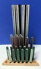 Rumold Dreikant Maßstab Aluminium Lineal verschiedene Größen wählbar NEU !