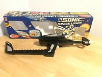 Crescent Toys Sonic Space Laser Complete  Boxed Sci-fi 60s 70s Vtg Toy Retro G1