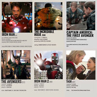 Marvel Movies Star Wars Photo Prints Avengers Thor Captain America Hulk