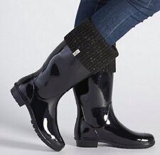 UGG Black Rubber Women's Shayn Rain Boot size 10